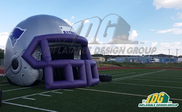 Miyamura Custom Inflatable Football Helmet