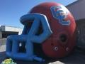 Carter HS Custom Inflatable Football Helmet