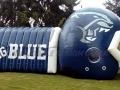 High School Custom Inflatable Football Helmet