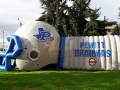 Pewitt High School Custom Inflatable Football Helmet