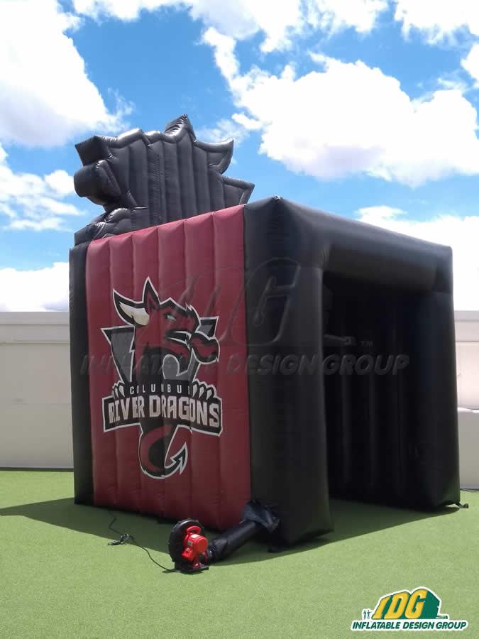 Columbus River Dragons Custom Inflatable Tunnel