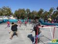 San Jose Sharks Custom Inflatable Hockey Rink In Action