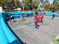 San Jose Sharks Inflatable Hockey Rink In Action