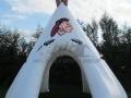 Inflatable Teepee Entryway