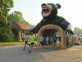 Inflatable Black Bear