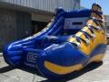 csu bakersfield custom inflatable free throw shoe