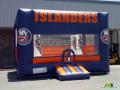 New York Islanders Inflatable Hockey Bouncer