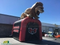 Inflatable Lion Entryway