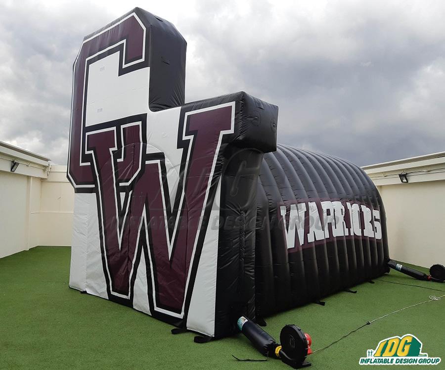 Curtis High School Custom Inflatables