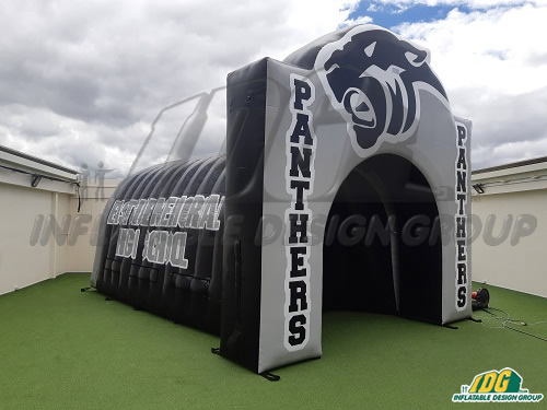 Eastside Panthers Custom Inflatable Tunnel and Arch