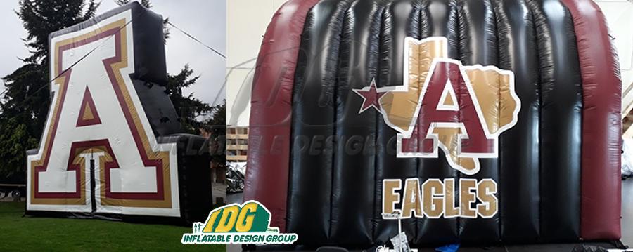 Eagles Texas High School Custom Inflatables