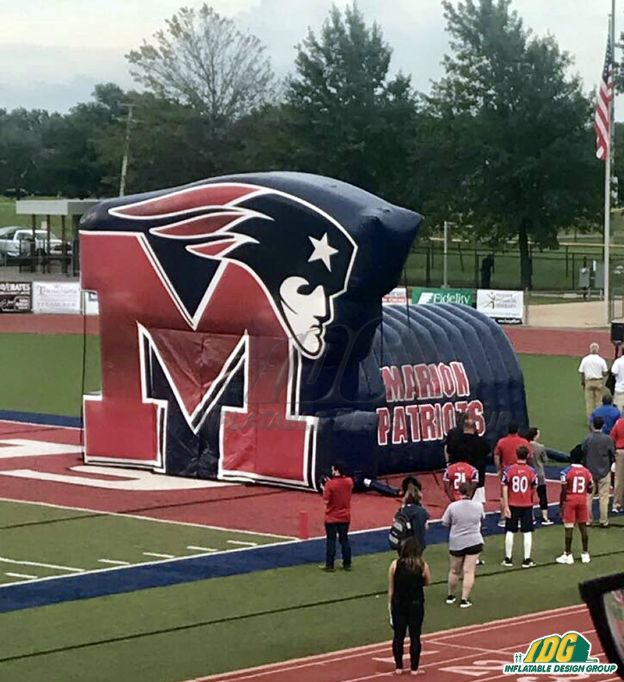 Marion custom Inflatable Tunnel Arch Combo