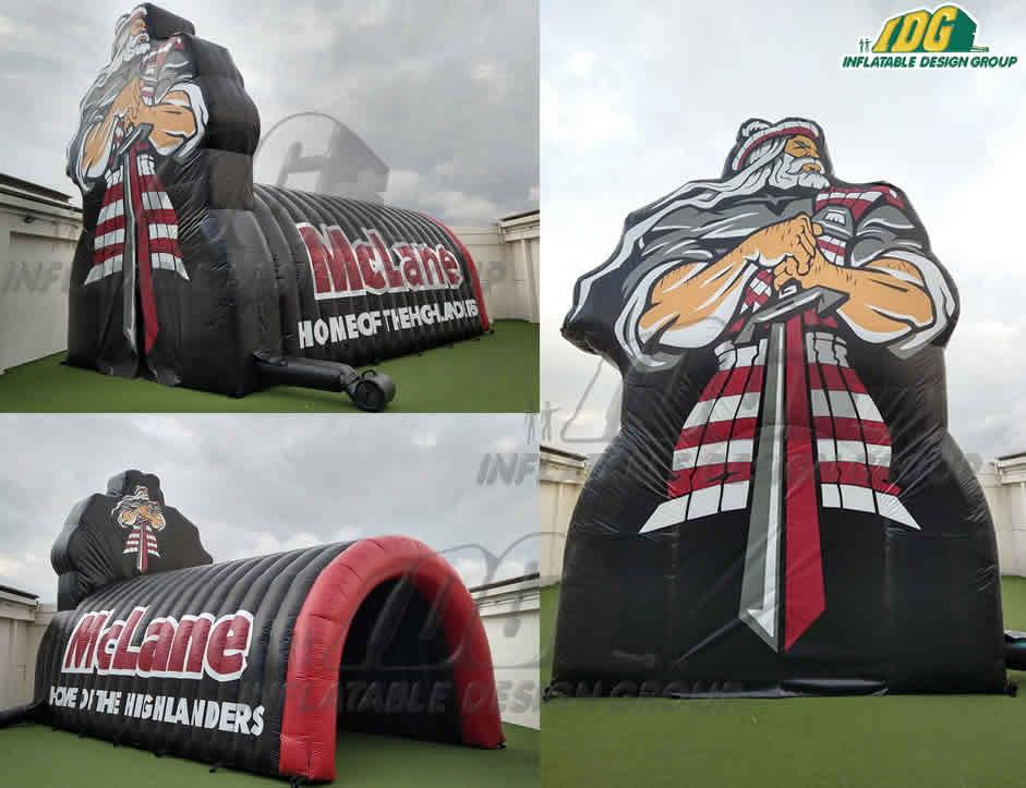 McLane-Highlanders-Custom-Arch-Tunnel-Combo