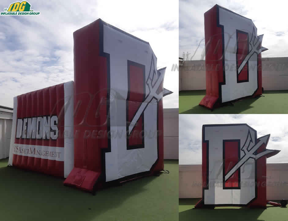 Custom Inflatable Logo Arch Tunnel Combo