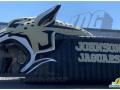 Inflatable Jaguar Head Entranceway custom for Johnson jaguars