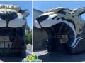 jaguar head johnson custom inflatable sports entryway