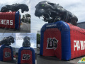 duncan ville panthers custom inflatable entryway for sports