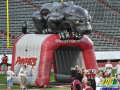 inflatable benton panthers entryway 3d tunnel