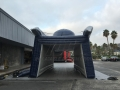 Inflatable Patriot Entryway Rear View