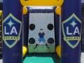 LA Galaxy Soccer Kick Flat Top