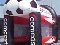 Comcast Soccer Kick Inflatable