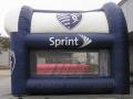 KC Sporting Soccer Kick Inflatable