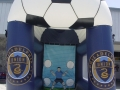 Philly Union Soccer Kick Inflatable