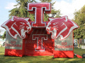 Inflatable Cougar Logo Tunnel