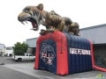 Custom Inflatable Tiger Entry