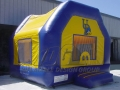University Bounce House Inflatable Custom for Game Day
