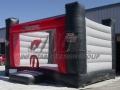 Custom Shape Inflatable University Bounce House