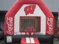 Coca Cola Sponsored Inflatable Bounce House