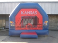 university of Kansas inflatable bounce house