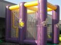 albany custom inflatable field goal kick