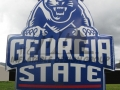 georgia state custom inflatable logo block