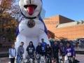 washington custom inflatable husky mascot
