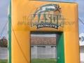 George Mason Custom Inflatable Arch