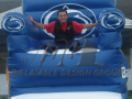 Blue Custom Inflatable Chair for College