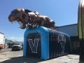 Inflatable Villanova Wildcat Tunnel