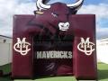 Colorado Mesa University Custom Inflatable Entryway