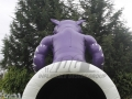 Inflatable Wildcat Entranceway Rear View