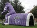 Inflatable Wildcat Entranceway Side View