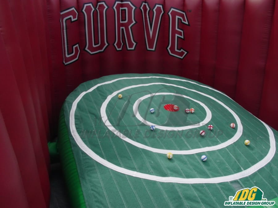 interactive golf inflatables