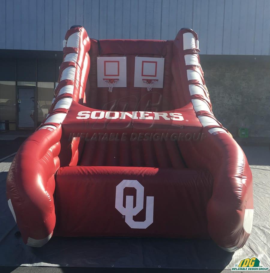 free throw custom basketball inflatable game
