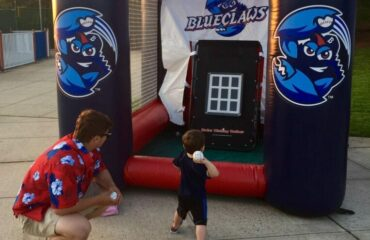 Lakewood Blueclaws Inflatable Fast Pitch