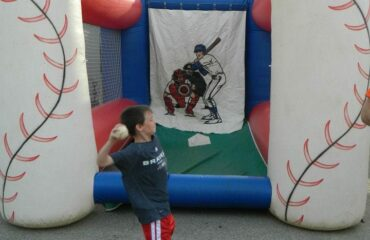Atlanta Braves Inflatable Fast Pitch