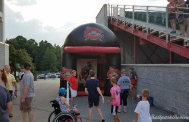 Carolina Mudcats Inflatable Speed Pitch