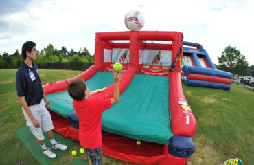 Rome Braves Inflatable Skee Ball