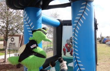 Sugarland Skeeters Inflatable Speed Pitch