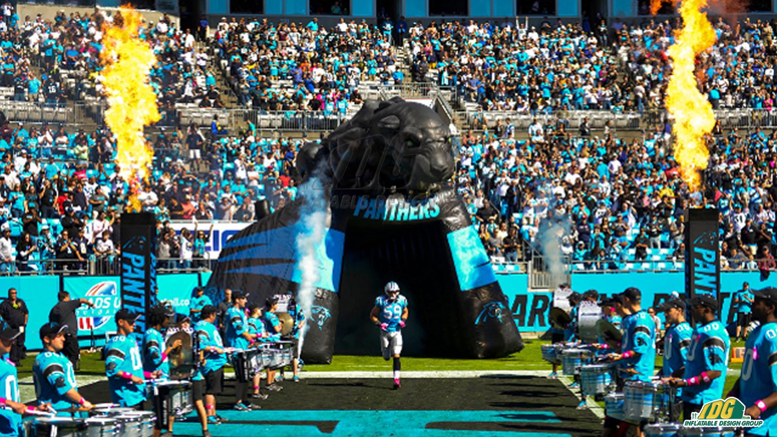 Carolina-Panthers-Inflatable-Entryway